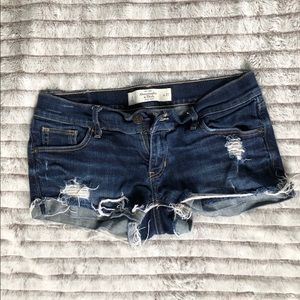 Abercrombie &Fitch denim shorts